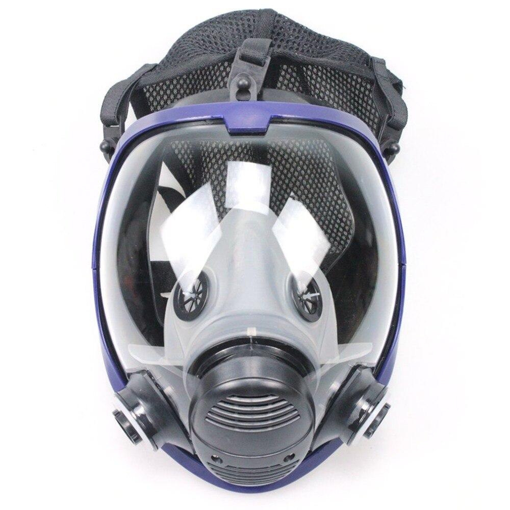 6800 corps masque à gaz sans filtre poussière respirateur peinture Pesticide pulvérisation Silicone cartouche soudage masque chimique Support 3 M filtre