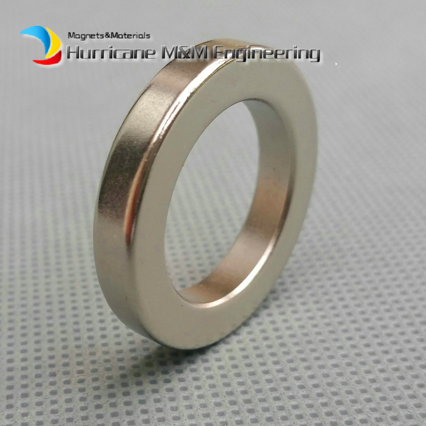 1 Pack NdFeB Magnet Ring OD 30x20x5 (+/-0.1) mm Diameter 1.18'' Round Strong Magnets Axially Magnetized Rare Earth Magnet 1 pack grade n38 ndfeb micro ring diameter od 9 5x4x0 95 mm 0 37 strong axially magnetized nicuni coated rare earth magnet