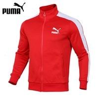 Original New Arrival 2018 PUMA Archive T7 Track Jacket Men S Jacket Sportswear