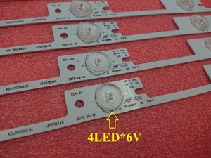 Image 2 - New 100 Pieces*4 LEDs*6V 327mm LED backlight bar for TV KDL39SS662U 35018339 KDL40SS662U 35019864