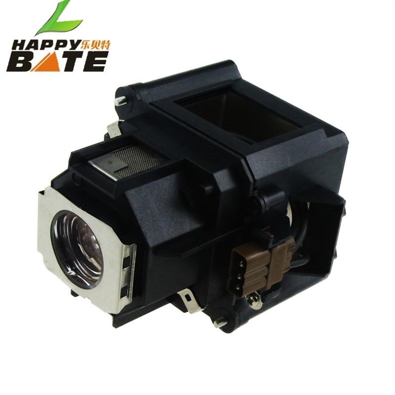 HAPPYBATE ELPLP46 V13H010L46 Compatible Projector Lamp with Housing EB-500KG EB-G5000 EB-G5200W EB-G5200WNL G5300 G5350NL G5350