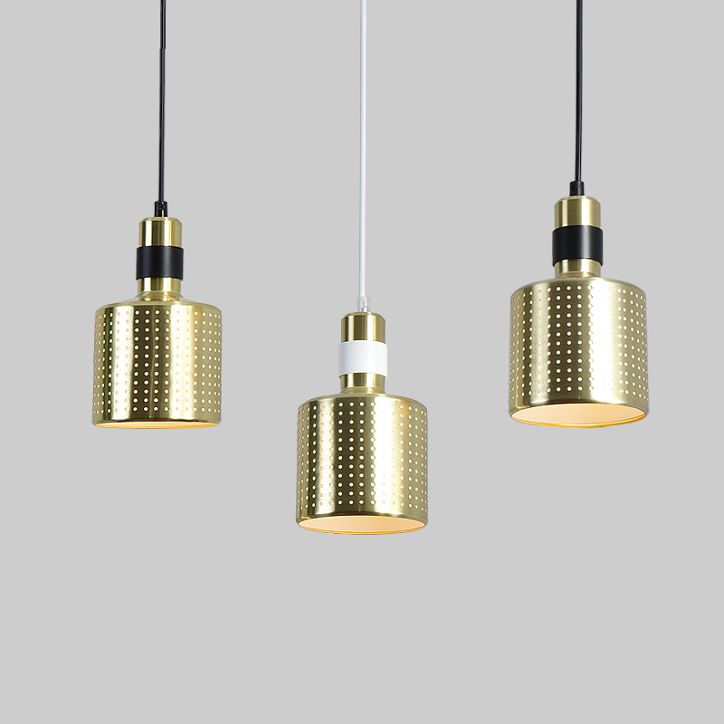 Modern Hollow Pendant Lamps Gold Metal LED Pendant Lights For Dinning Room Living Room Restuarant Table Hanglamp Light Fixtures dx vintage lights pendant antler metal pendant lights verlichting hanglamp bar pendant light dinning room