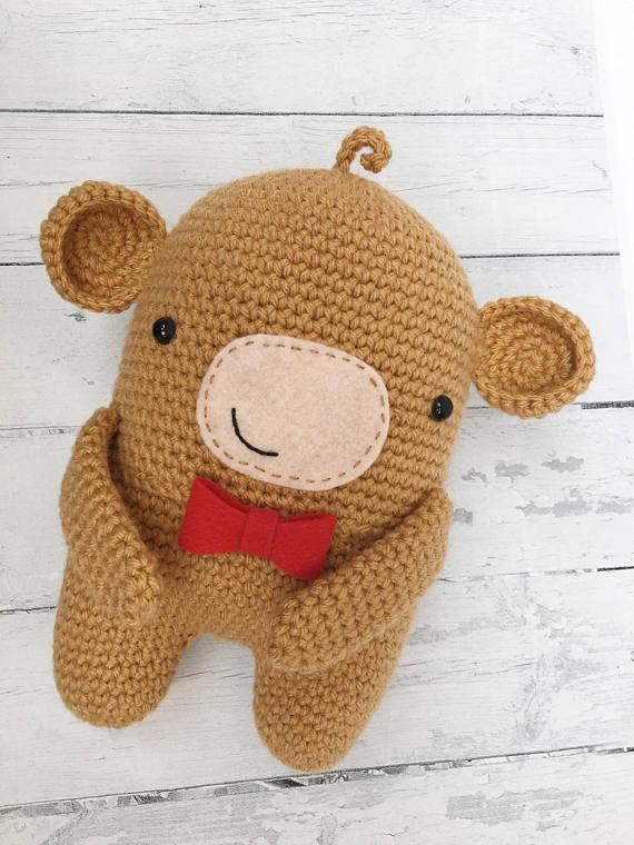 Crochet pattern Little monkey! PDF Ternura Amigurumi English ... | 760x570