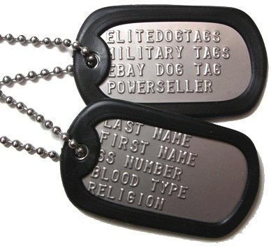 Military Dog Tags 70207(Army Dog Tag 8fe8716680e