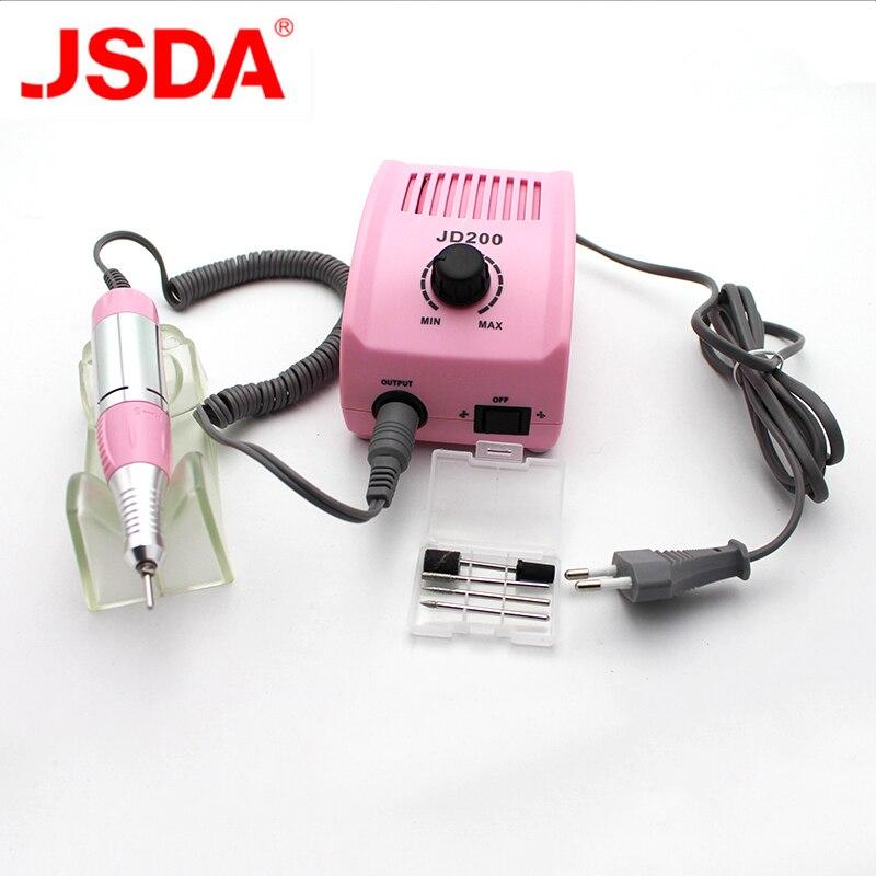 JD200 máquina de molienda de chorro de agua de microprecisión 35 w 30000 rpm máquina de taladro eléctrico para manicura y pedicura-in Equipo de decoración de uñas from Belleza y salud    1