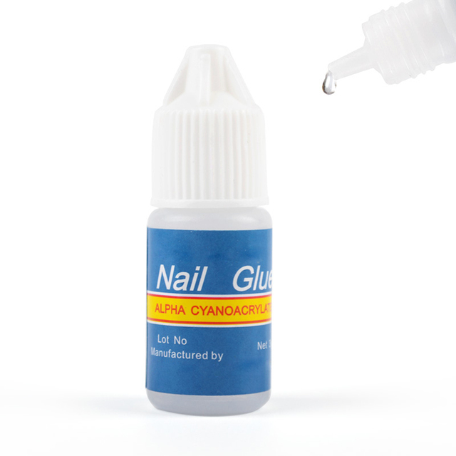 3g Glue for Fake Nails or Rhinestones Tips Strong Nail Glue for ...