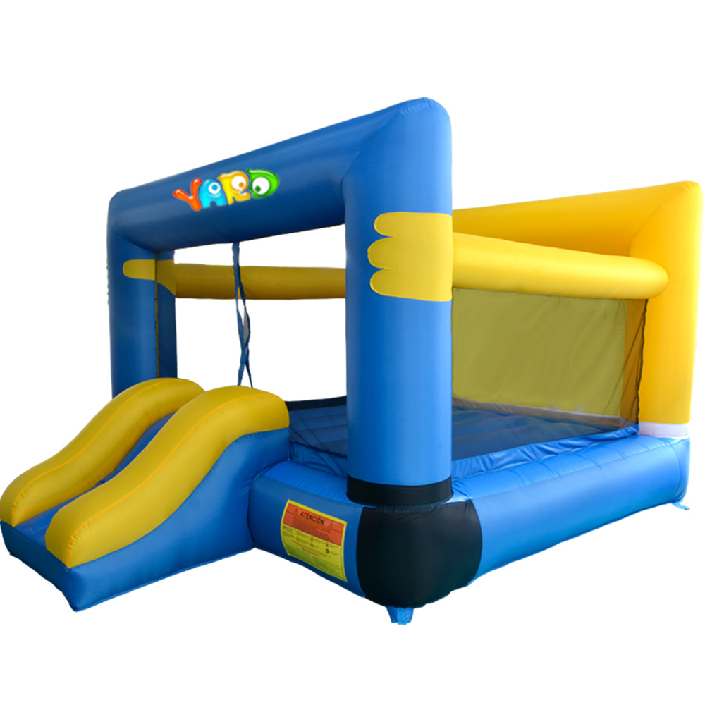 YARD Kids Inflatable Bouncy Castle Jumping House with Cartoon Inflatable Bounce House Castle with Free Ocean Balls yard residential inflatable bounce house combo slide bouncy with ball pool for kids amusement