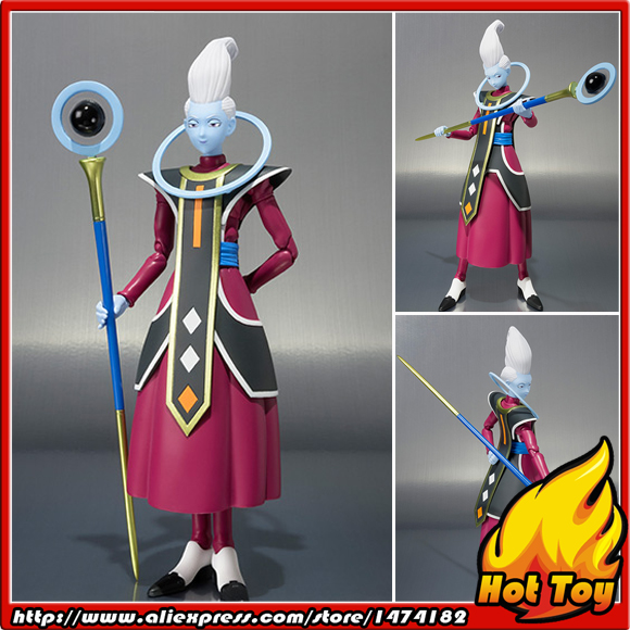 100% Original BANDAI Tamashii Nations S.H.Figuarts (SHF) Exclusive Action Figure - Whis from Dragon Ball SUPER 2017 brand design black white sailor moon luna artemis hand bag samantha vega handbag cat ear shoulder bag messenger bag