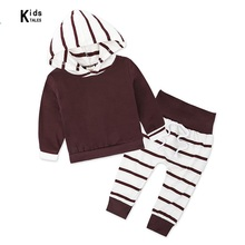 New arrival Baby Sets baby boys clothing set autumn children hoodies+pants thicken Autumn clothes boys girls sets 2018 kids tracksuits 2018 new autumn boys clothes sets letter printed hoodies