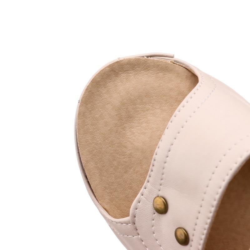 MLJUESE 2018 zapatillas de mujer estilo al aire libre de verano color - Zapatos de mujer - foto 6