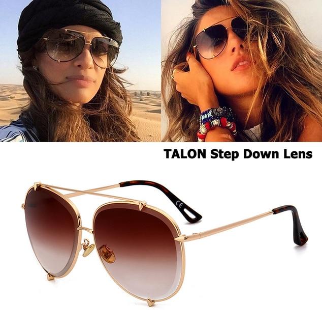 be7927e72 JackJad Fashion TALON Step Down Lens Style Aviation Sunglasses Women Men  Vintage Brand Design Sun Glasses