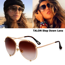 JackJad Fashion TALON Step Down Lens Style Aviation Sunglasses