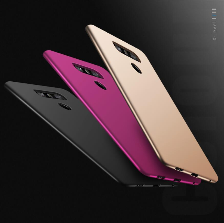 X-Level Phone-Case G8thinq-Shell Back-Cover Protective LG For V30 G7 Silky TPU Silicone