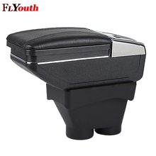 Car Armrest Box Central Store Content Products Interior Storage Car-Styling Accessories For Peugeot 208 2014-2018