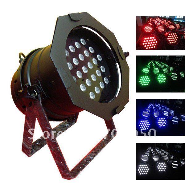 24x8W High Brightness Quad Color LED Par 64 light 4 in 1 (CL-051A)