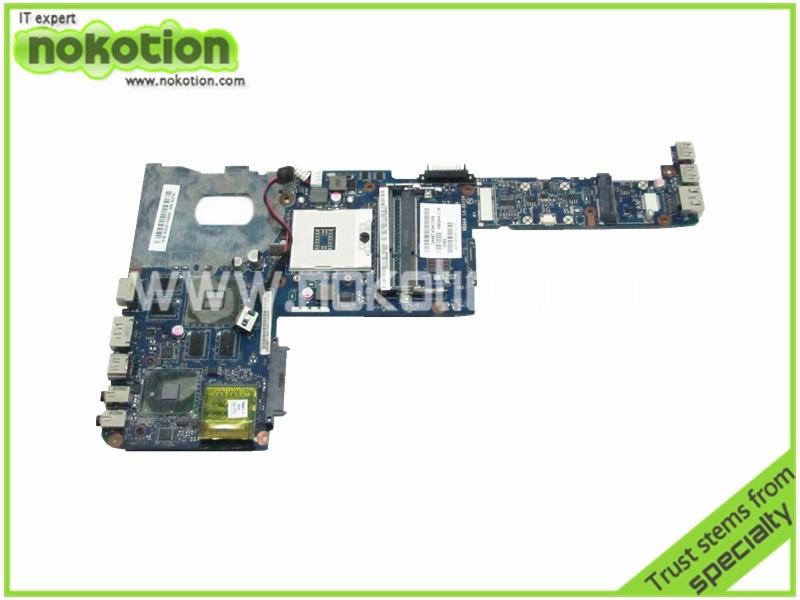 все цены на NOKOTIOLaptop motherboard for toshiba satellite M645 K000109650 LA-6072P HM55 N11P-LP2-A3 DDR3 Mother Board free shipping онлайн