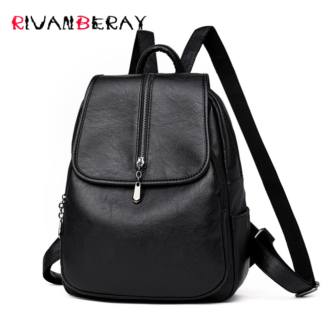 Fashion Ladies Back Pack Sheepskin Leather Women Backpacks for School  Teenagers Girls Bookbag Luxury Female Travel Bags Rucksack ae6b87d7720ed