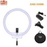 YONGNUO YN608 Studio Ring LED Flexible Video Light 3200 5500k Photographic Light Wireless Remote Control + AC Adapter