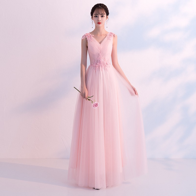 100% Kwaliteit Elegante Bruid Bruiloft Avond Party Dress Prachtige Kanten Bloem Strass Cheongsam Sexy V-hals Mouwloze Qipao Vestidos
