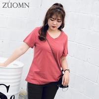 Big Size Female T-shirt Summer Women T Shirt Short Sleeve Women Cotton Korean T Shirts Girls Casual Kawaii Top Tees Clothes Y127