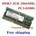 Пожизненная гарантия для Elpida DDR3 2 ГБ 4 ГБ 1066 мГц PC3-8500S оригинальной аутентичной ddr 3 2 г портативный ноутбук памяти RAM 204PIN SODIMM
