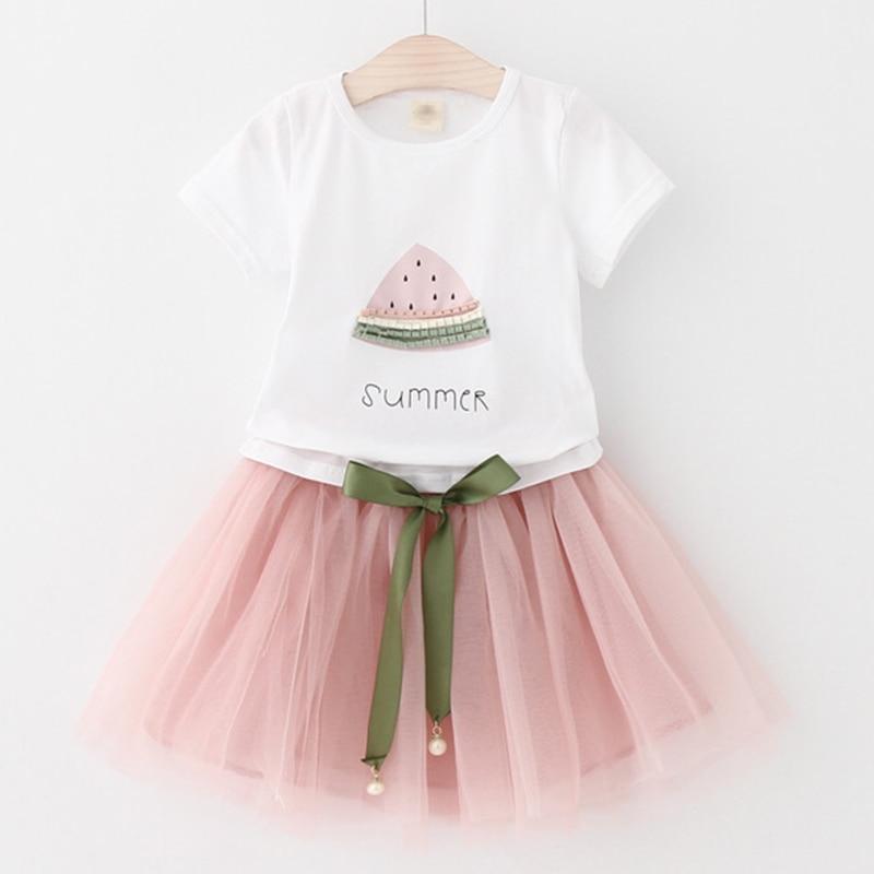 Melario Girls Dresses 2019 Söt Prinsessans Klänning Barn Barn - Barnkläder - Foto 5