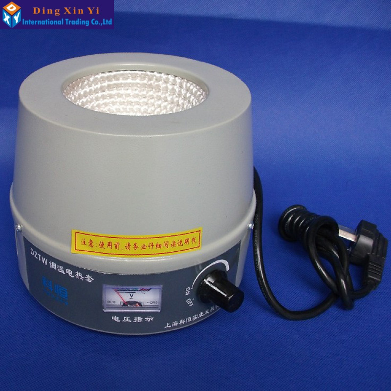 100ml Electronic Controll Heating Mantle for heating round bottom flask electronic stove colud heating plat bottom flask and beaker 220v 1000w