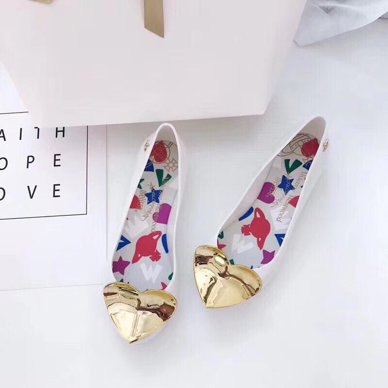 Melissa Women Jelly Sandals Heart 2019 New Summer Design Ladies Sandals Breathable Female Melissa Shoes High Quality