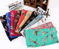 New arrival Dragonfly Print Voile Scarf For Women Sarongs shawl wrap Long Scarves All season 10 colors 90*180cm 14pcs/lot #3806