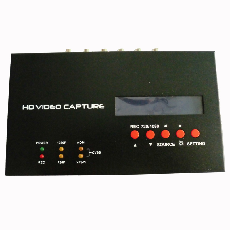 283S 1080p HD video Game capture hdmi recorder with one Click for Camera Gameplay,wholesale Free shipping Dropshipping