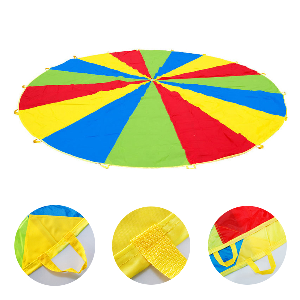 Dia-3M-Kid-Outdoor-Sports-Toy-Rainbow-Umbrella-Parachute-Toys-for-Children-Kids-Cooperation-Relations-Developing-Training-Toys-5