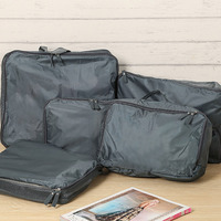 5pcs Travel Storage Portable Organizer Clothes Luggage Zipped Suitcase Pouch Bag Case