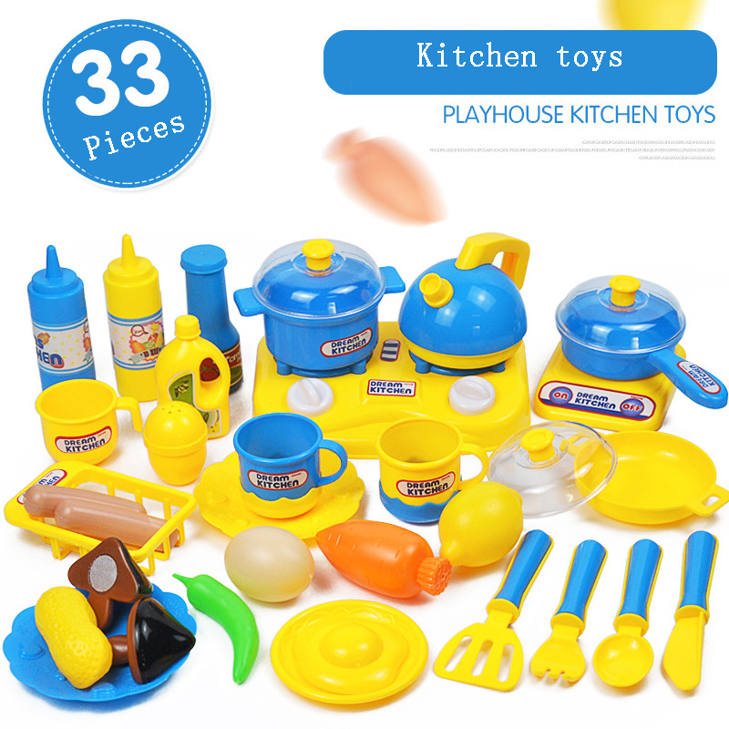 Children S Play House Real Life Plastic Kitchen Boy Girl