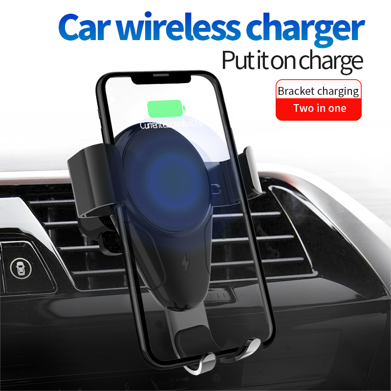 Buy 20 pcs Gravity Car Phone Holder for iPhone Samsung Car Wireless Charger Air Vent Mount Mobile Phone Holder Stand for only 422.6 USD