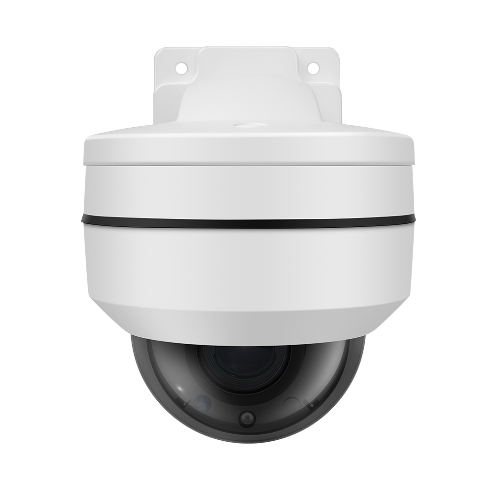 2 5 Inch 4MP Outdoor Dome PTZ Camera Waterproof 4Megapixel Outdoor 4X Motorized Lens Security 48V POE Surveillance Camera in Surveillance Cameras from Security Protection
