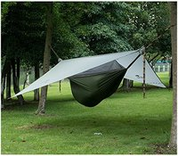 Naturehike 1 Person Camping Hammock Ultralight Outdoor Hanging Bed With Mosquito Net Hanging Tent 1.5KG Awning Canopy DZ15D001 L