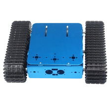 Aluminum Tracked Vehicle Tank Chassis Caterpillar Tractor Crawler Intelligent Robot Car for DIY Arduino