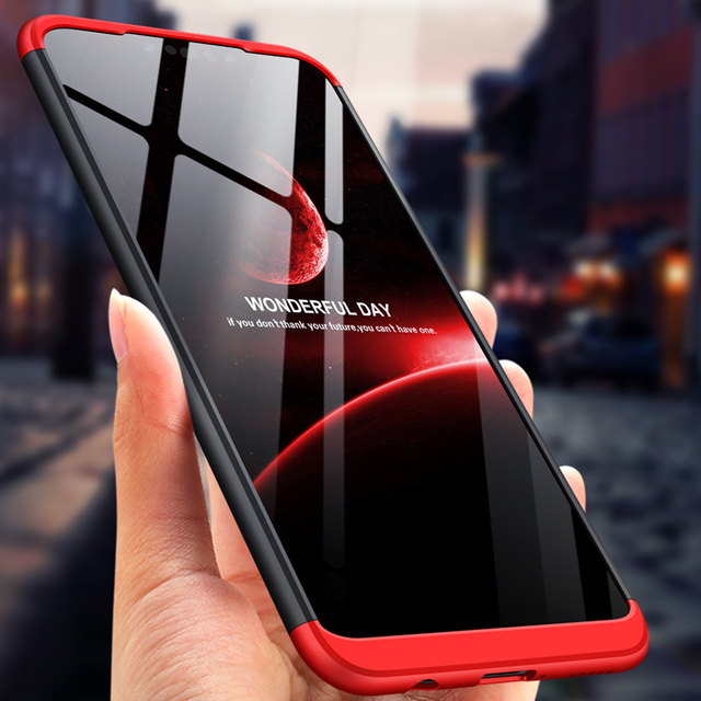 huge discount 2c578 bcb4a US $3.99 |For Huawei Nova 3i Case 3 in 1 Dual Armor 360 Full Protection  Matte Hard PC Case for Huawei nova 3i Cover Fundas P Smart Plus-in Fitted  ...