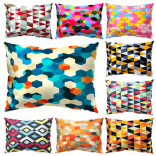 Printed Pillowcases Decorative Pillows Cushion cover Geometric pattern rectangle pillowcase home throw pillow covers decorative