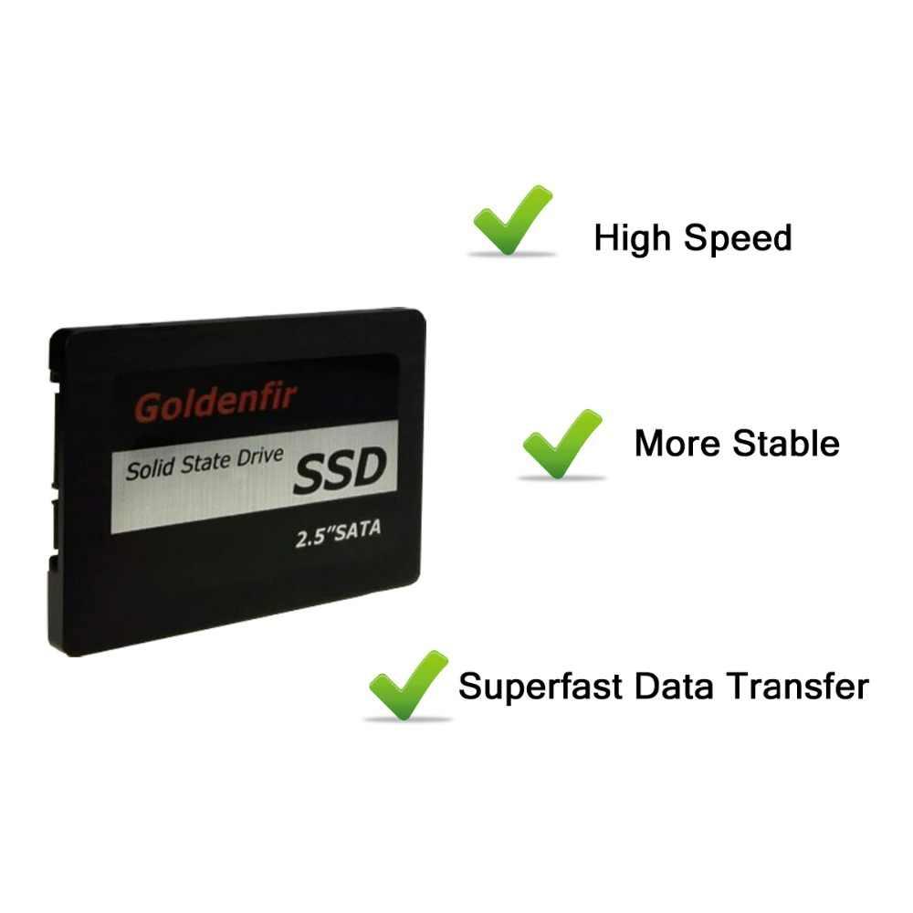 Disco Duro Goldenfir SSD 8g 60gb 120gb de alta velocidad de estado sólido HD 360GB 480GB 960GB 1TB 500G para ordenador portátil de escritorio