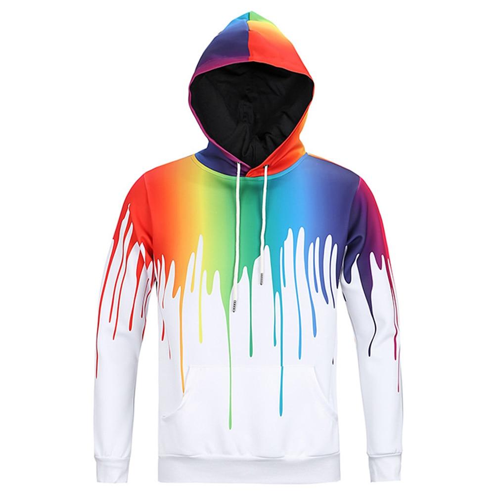 Hoodies 3D Men/Unisex Sweat Shirts Hooded Male Jacket Zip Hoody Autumn Winter Coat Colorful Harajuku Sweatshirts hoodies