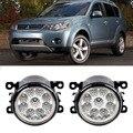 Car-Styling For Mitsubishi Outlander 2006-2012 9-Pieces Led Fog Lights H11 H8 12V 55W Fog Head Lamp