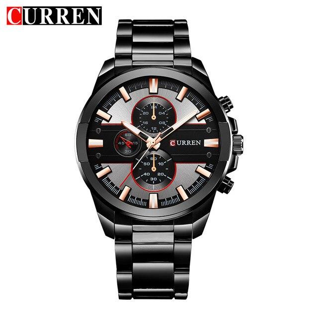 Curren 8274 часы Для мужчин 2017 Топ люксовый бренд Relogio masculino кварцевые часы моды случайные часы