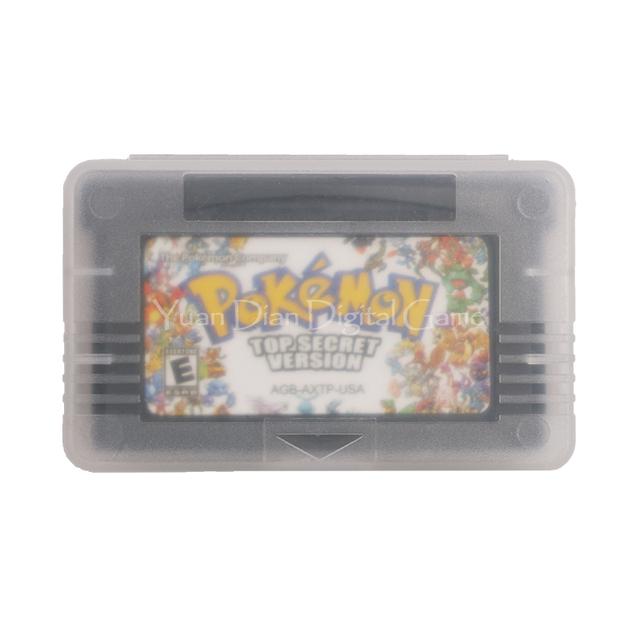 Nintendo GBA Game Pokemon Series Top Secret English Language Version