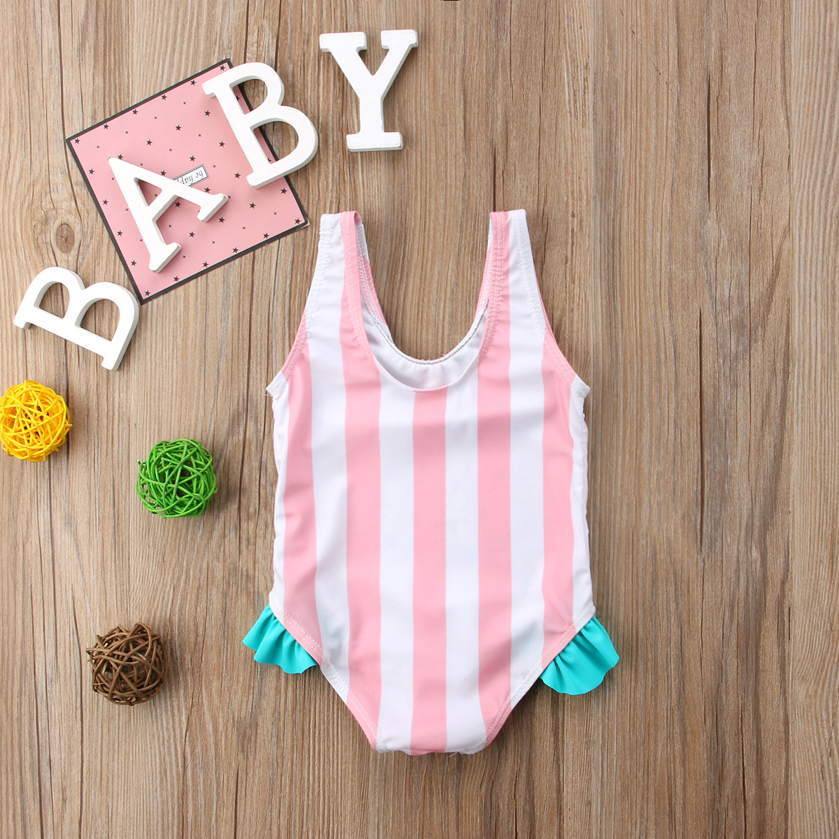 Toddler Newborn Baby Girls Watermelon Swimsuit Summer Baby Girl Beachwear Swimwear Bathing Suit