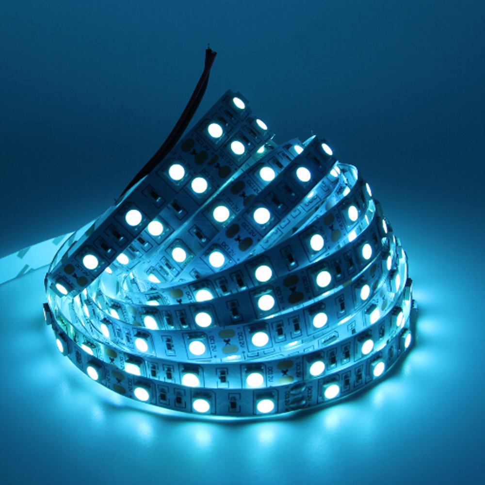led lamp 12v 1 5m flexible 5050 led lighting strip 60led m. Black Bedroom Furniture Sets. Home Design Ideas