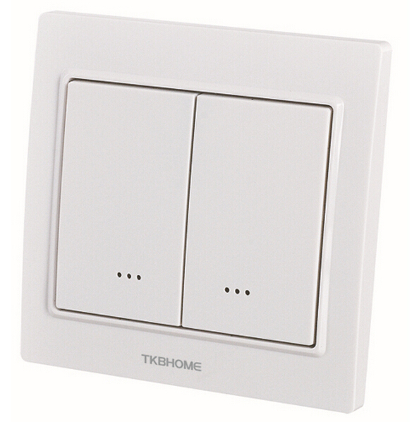home automation z wave dual wall dimmer switch tz55d for led indication low. Black Bedroom Furniture Sets. Home Design Ideas
