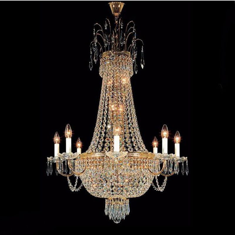 Phube Lighting French Empire Gold Crystal Chandelier Lustre Chrome Chandeliers Modern Chandeliers Light Lighting +Free shipping! anon маска сноубордическая anon somerset pellow gold chrome