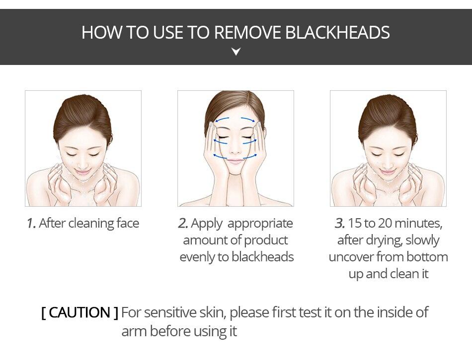 VIBRANT GLAMOUR Peel Mask Blackhead Remover Nose Mask Pore Strip White Mask  Plants Acne Treatment Deep Cleansing Skin Care
