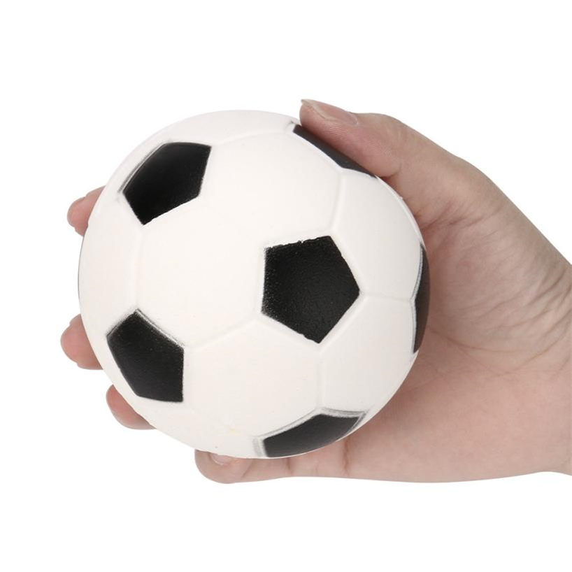 Squishy Jumbo Football Squishy Slow Rising Cream Scented Decompression Kid Toys Gift 2018MAR23 funny gadgets football squishy slow rising cream scented decompression kid toys anti stress ball kawaii squishies joke toys gift